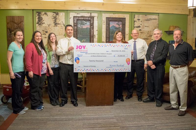 Albany_Med_Donation