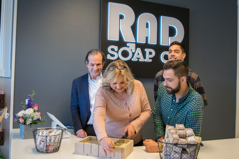 Rad Soap Co. opening