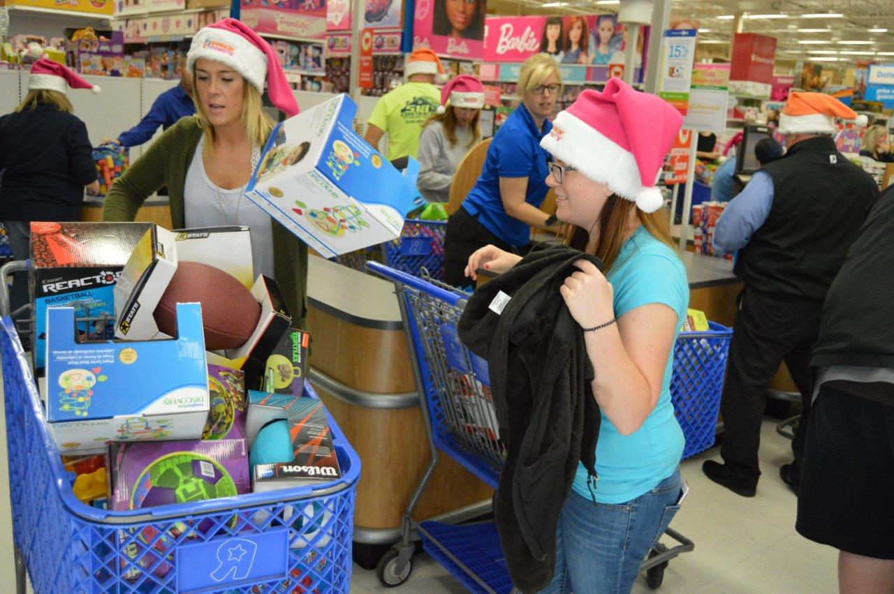 Toys for Tots Shopping Spree 1