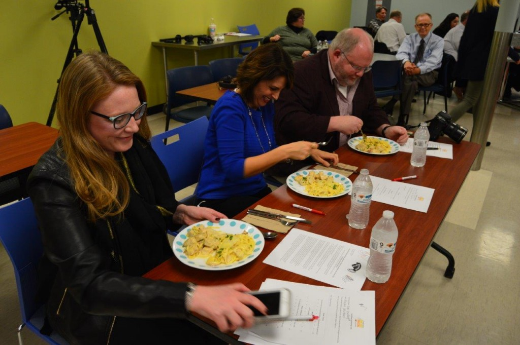 From left to right: FLY 92.3 on-air personality Ally; News 10 ABC Anchor Christina Arangio; and Times Union Senior Writer and Table Hopping Columnist Steve Barnes.